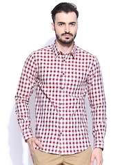 Jack & Jones Multicoloured Checked Slim Fit Casual Shirt