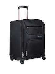 American Tourister Unisex Black Small Trolley Bag