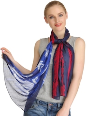 CoolThreads Blue & Red Stole