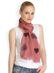 CoolThreads Dusty Pink Printed Stole