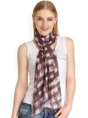 CoolThreads Brown Checked Stole