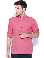 Svanik Pink Short Kurta