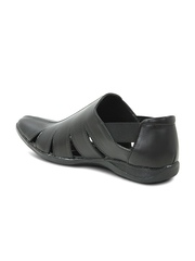 Get Glamr Men Black Sandals