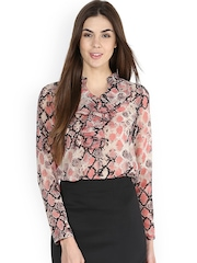 La Zoire Women Pink Printed Top