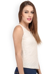 Cation Women Off-White Top