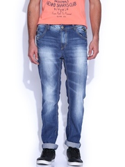 SPYKAR Blue Low-Rise Rico Narrow Fit Jeans