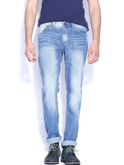 SPYKAR Blue Low-rise Narrow Fit Jeans