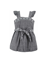 Oye! Girls Grey A-Line Dress