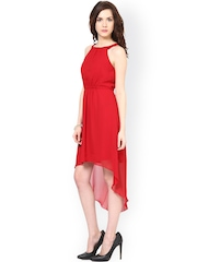 Harpa Red High Low Dress