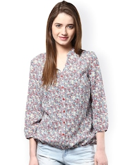 Harpa Multicoloured Printed Top