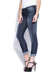 ONLY Blue Slim Fit Low-Rise Jeans
