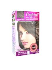 Vegetal Unisex Soft Black Hair Colour