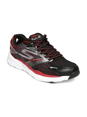 Skechers Men Black & Red Go Run Ride 4 Running Shoes