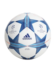 Adidas Men White UEFA Champions League FIN15OMB Football