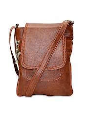Utsukushii Tan Brown Sling Bag