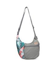 Wiki by Wildcraft Grey Printed Sling Bag