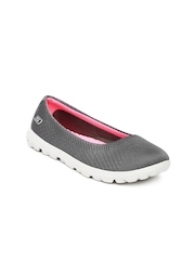 Skechers Women Grey On-The-Go Casual Shoes