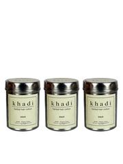 Khadi Set of 3 Black Herbal Hair Colours