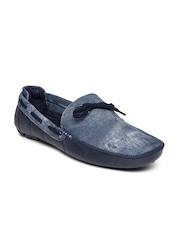 Andrew Scott Men Blue Boat Shoes