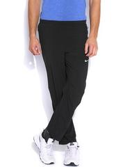 Nike Black AS Dri-FiT Stretch Woven Running Track Pants
