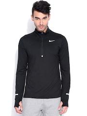 Nike Black AS DRI-FIT ELEMENT HZ T-shirt