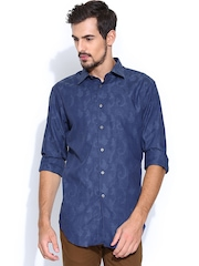 T.M.Lewin Blue Casual Shirt