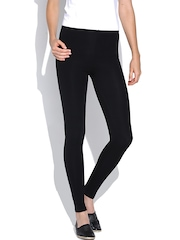 Happy Hippie Black Ankle-Length Leggings