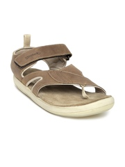 Woodland ProPlanet Men Brown Leather Sandals