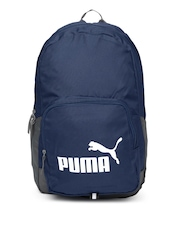 PUMA Unisex Blue & Grey Phase Backpack