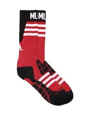 Adidas Unisex Red & Black Manchester United FC Training Socks AC5631