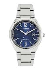 Citizen Men Eco-Drive Blue Dial Watch AW1370-51L