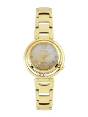 Citizen Women Eco-Drive Diamond-Studded Mother-of-Pearl Dial Watch EM0328-57P
