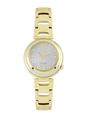 Citizen Women Eco-Drive Pearly White Dial Watch EM0336-59D