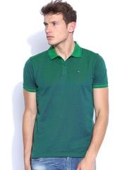 Arrow Sport Green & Blue Polo T-shirt