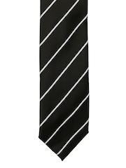 Tossido Black Striped Tie