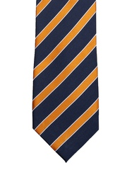 Tossido Blue & Yellow Striped Tie