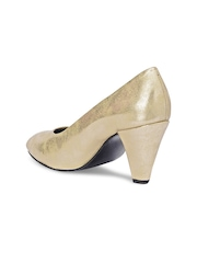 Bruno Manetti Women Gold-Toned Heels