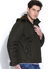 Fort Collins Brown Jacket with Detachable Hood