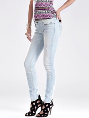 GUESS Light Blue Power Skinny Jeans