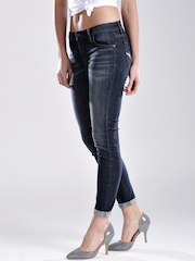 GUESS Dark Blue Curvy Fit Jeans