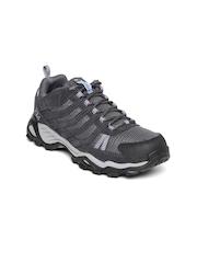 Columbia Women Charcoal Grey Helvatia Sports Shoes