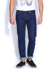 Levis Blue Slim Straight Fit Jeans 513