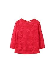 Beebay Girls Red Lace Top