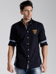 Tommy Hilfiger Navy New York Fit Casual Shirt