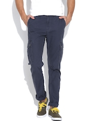 U.S. Polo Assn. Navy Slim Cargo Trousers