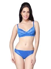 Little Lacy Blue Lace Lingerie Set ML-12