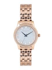 GIORDANO Women Silver-Toned Dial Watch 2712-33