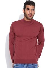 Monte Carlo Maroon Woollen Sweater