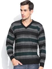 Duke Grey & Green Sweater