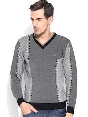 Duke Grey & Black Sweater